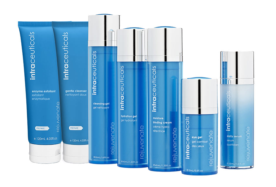 Rejuvenate Range of skin care products