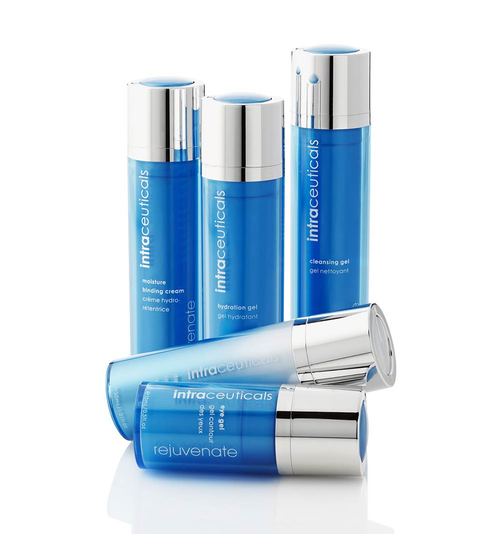 intraceuticals rejuvenation products cleanser daily serum hydration gel moisture binding cream eye gel
