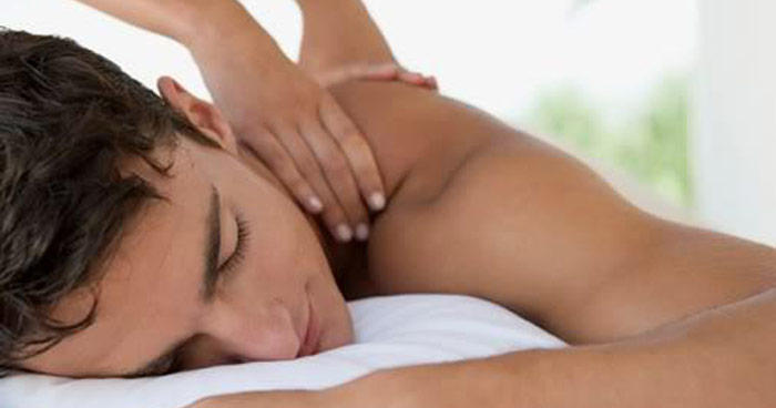 deep tissue massage therapy male